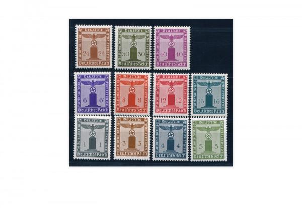 Briefmarken Deutsches Reich Dienstmarken 1903-1944 Michel-Nr. D 155/165 postfrisch