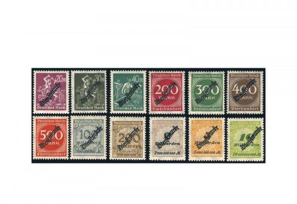 Deutsches Reich Mi. Nr. D 75/88 postfrisch