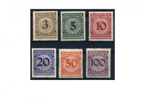 Deutsches Reich Mi.Nr. D 99/104 postfrisch