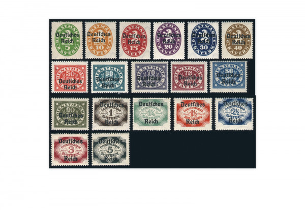 Deutsches Reich Mi. Nr. D 23/33 postfrisch
