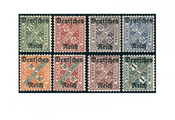 Deutsches Reich Mi. Nr. D 57/64 postfrisch
