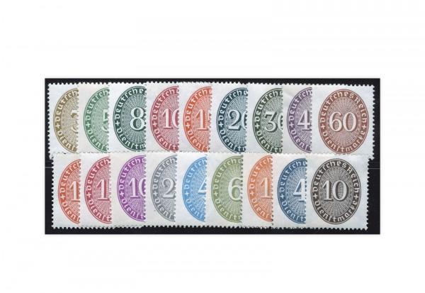 Deutsches Reich Mi.Nr. D 114/131 postfrisch