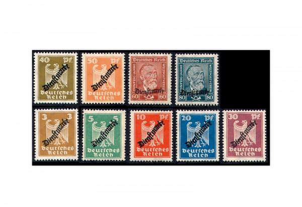 Deutsches Reich Mi. Nr. D 105/13 postfrisch