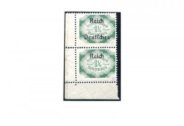 Deutsches Reich Michel Nr. D 47 */** Dienstmarke mit Aufdruckfehler
