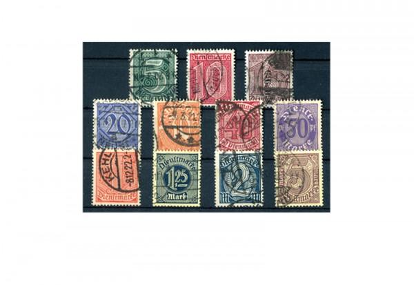 Deutsches Reich Mi. Nr. D 23/33 1920 gestempelt