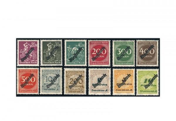Deutsches Reich Mi. Nr. D 75/88 gestempelt/geprüft