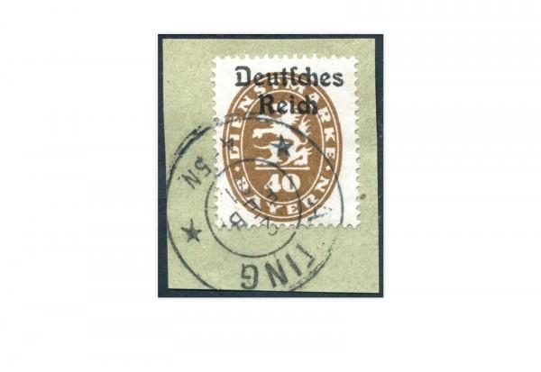 Deutsches Reich Michel Nr. D 39 gestempelt Dienstmarke