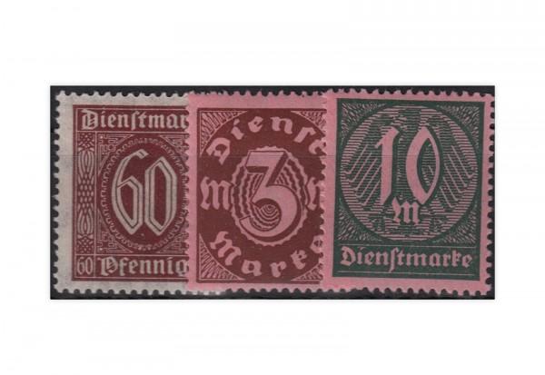 Deutsches Reich mi. Nr. D 66/68 gestempelt