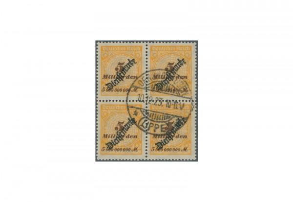 Briefmarken Deutsches Reich Dienstmarken 1923 Michel-Nr. D 85 gestempelt