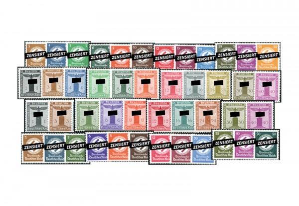 Briefmarken Drittes Reich Dienstmarken Michel-Nr. D 132/177 postfrisch komplett