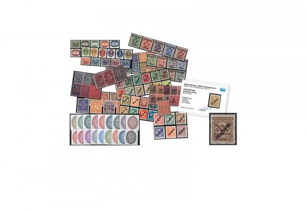 Deutsches Reich Dienstmarken Mi.Nr. 16/131 gestempelt im SET