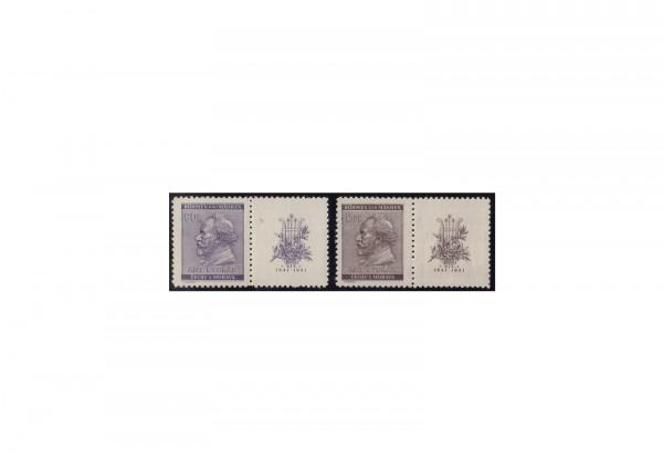 Briefmarken Böhmen und Mähren Michel-Nr. 73 und 74 Zf postfrisch
