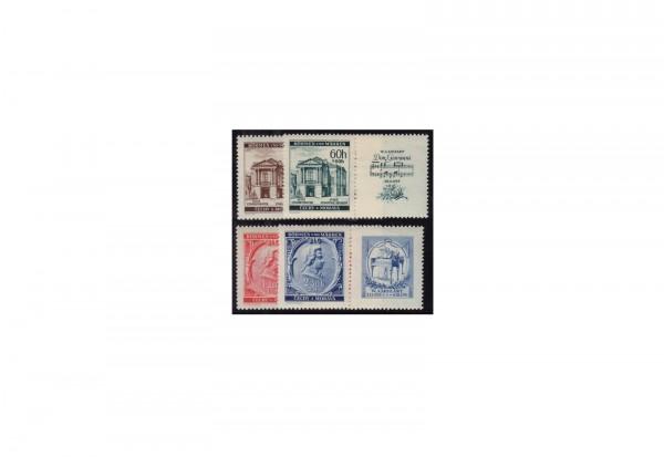 Böhmen und Mähren Michel Nr. 79 bis 82 Zf postfrisch