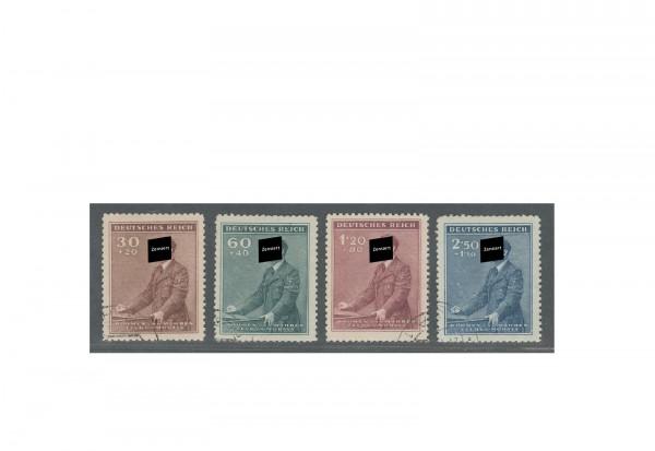 Briefmarken Böhmen und Mähren Geburtstag A. Hitler Michel-Nr. 85 bis 88 postfrisch
