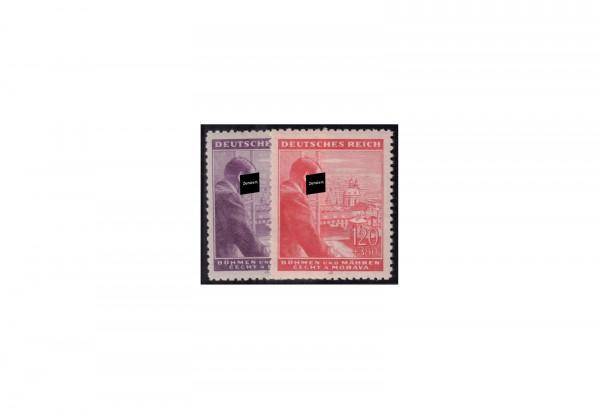 Böhmen Böhmen und Mähren Geburtstag Adolf Hitler Michel-Nr. 126 - 127 postfrisch