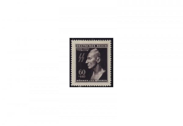 Briefmarke Böhmen und Mähren Todestag R. Heydrich Michel-Nr. 131 postfrisch