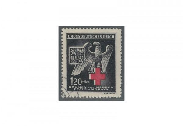 Briefmarke Böhmen und Mähren Rotes Kreuz Michel-Nr. 132 gestempelt