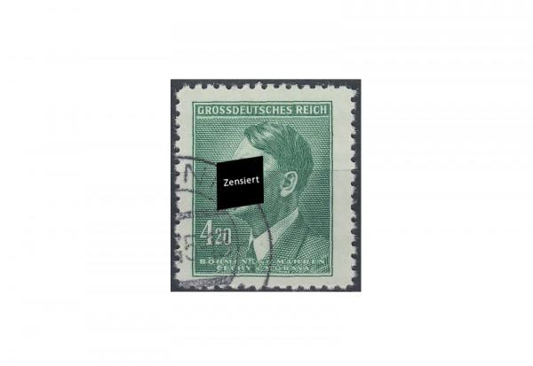 Böhmen und Mähren Freimarke Adolf Hitler Michel Nr. 142 gestempelt