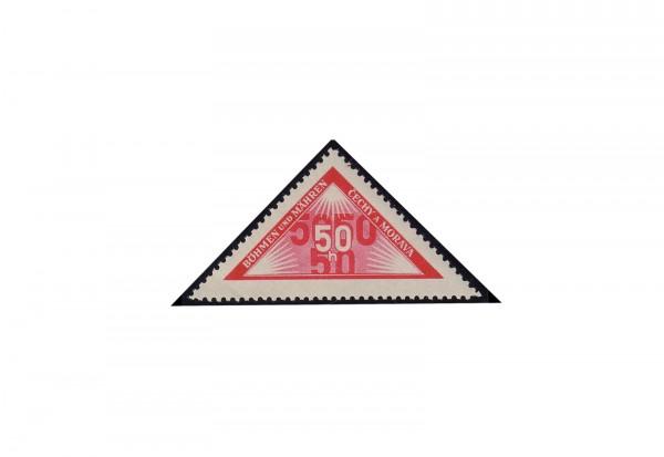 Briefmarke Böhmen und Mähren Portomarke Michel-Nr. P 15 postfrisch