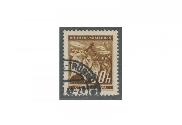 Briefmarke Böhmen und Mähren Michel-Nr. 64 gestempelt