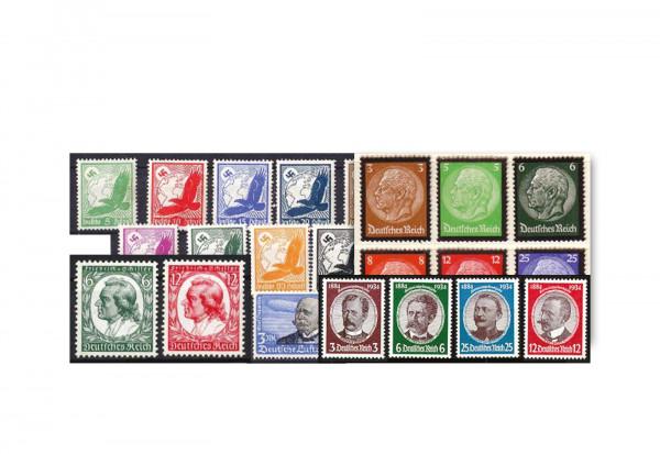 Deutsches Reich Michel-Nr. 529/564 Jahrgang 1934 postfrisch 36 Marken