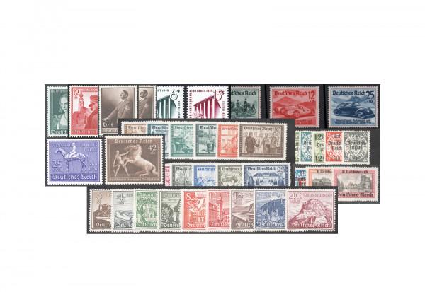 Deutsches Reich Michel-Nr. 686/Z 739 Jahrgang 1939 postfrisch 55 Marken