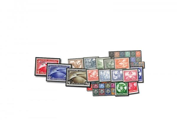 Briefmarken Deutsches Reich Jahrgang 1933 Mi.Nr. 479/528 ohne Block 2 gestempelt 46 Marken