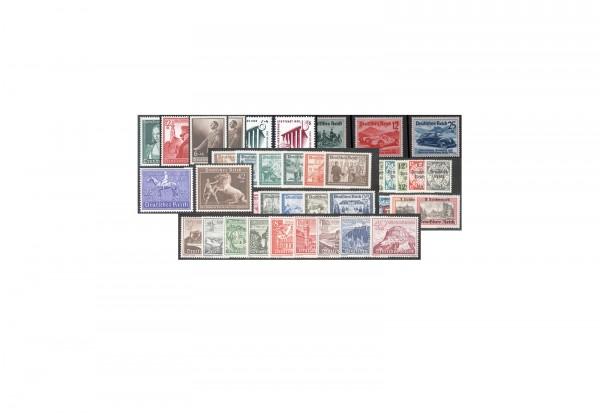 Deutsches Reich Jahrgang 1939 Michel-Nr. 686/Z 739 55 Marken gestempelt