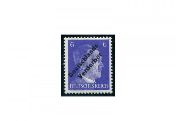 Briefmarke Meißen Lebhaftblauviolett Michel-Nr. 32 ax postfrisch