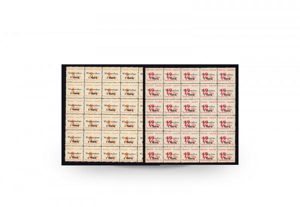 Briefmarken SBZ Spremberg Wiederaufbau 1945 Michel-Nr. 19/20 A postfrisch