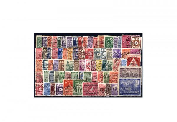 Briefmarken SBZ 150 verschiedene Marken 1945-1949