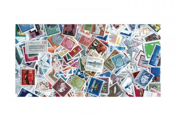 Briefmarken Westdeutschland-Sortiment ab 1945 300 Marken postfrisch und gestempelt