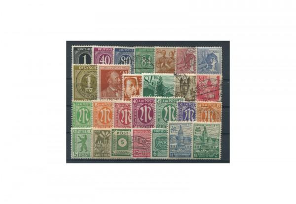 Briefmarken Deutschland Besatzungszonen 1945-1949