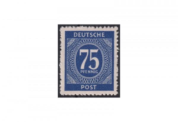 Alliierte Besetzung Kontrollrat Michel-Nr. 934 d postfrisch Ziffer 1946 mit Fotobefund Bernhöft