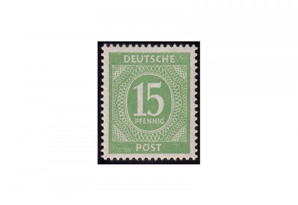 Alliierte Besetzung Kontrollrat Michel-Nr. 922 F postfrisch Ziffer 1946 mit Fotobefund Bernhöft