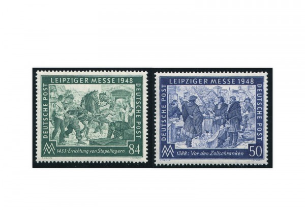 Alliierte Besetzung Leipziger Frühjahrsmesse Mi.Nr. 967/68 postfrisch