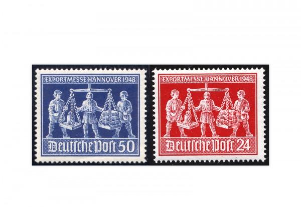 Alliierte Besetzung Exportmesse Hannover Mi.Nr. 969/70 postfrisch