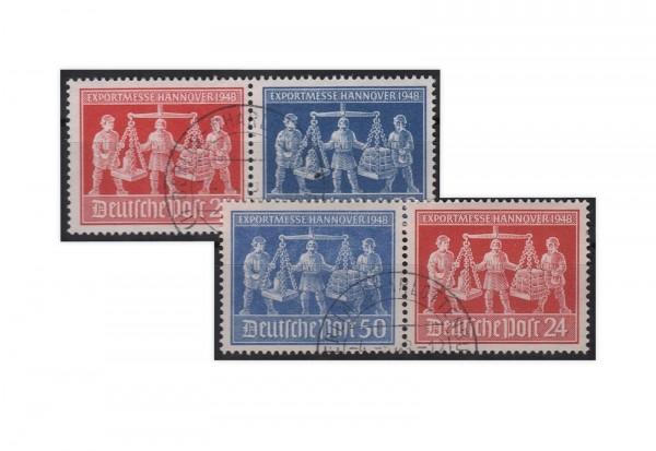 Alliierte Besetzung Exportmesse Hannover Mi.Nr. 969/970 WZd 1+3 postfrisch