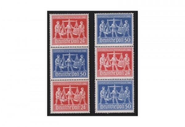 Alliierte Besetzung Exportmesse Hannover Mi.Nr. 969/970 SZd 2+4 postfrisch