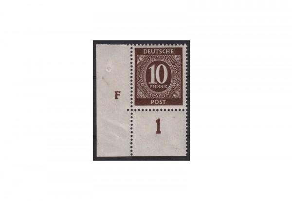 Alliierte Besatzungszone Kontrollratausgabe 1946 Michel Nr. 918 DZ (F) postfrisch