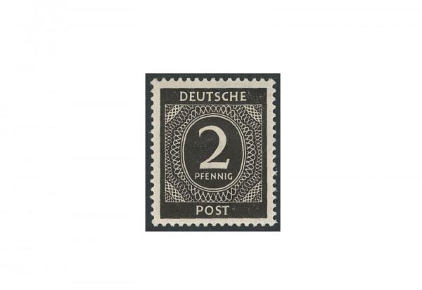 Briefmarke Alliierte Besetzung Kontrollrat I 1946 Michel-Nr. 912 b postfrisch