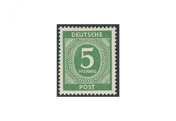 Briefmarke Alliierte Besetzung Kontrollrat I 1946 Michel-Nr. 915 a postfrisch