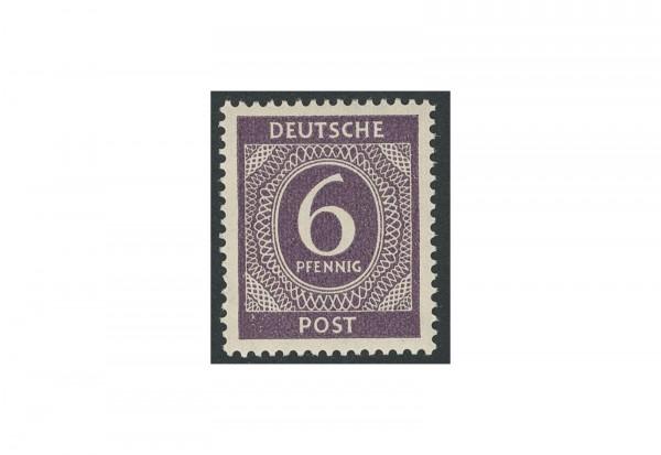 Briefmarke Alliierte Besetzung Kontrollrat I 1946 Michel-Nr. 916 c postfrisch