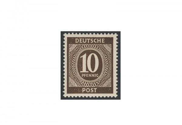 Briefmarke Alliierte Besetzung Kontrollrat I 1946 Michel-Nr. 918 c postfrisch