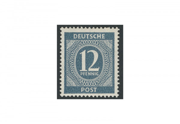 Briefmarke Alliierte Besetzung Kontrollrat I 1946 Michel-Nr. 920 b postfrisch