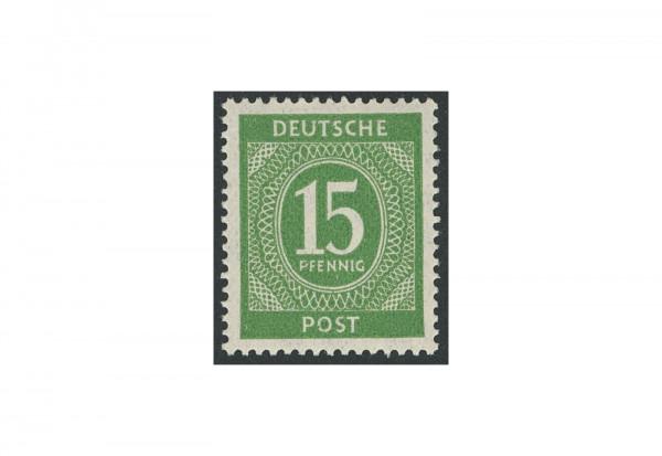 Briefmarke Alliierte Besetzung Kontrollrat I 1946 Michel-Nr. 922 b postfrisch