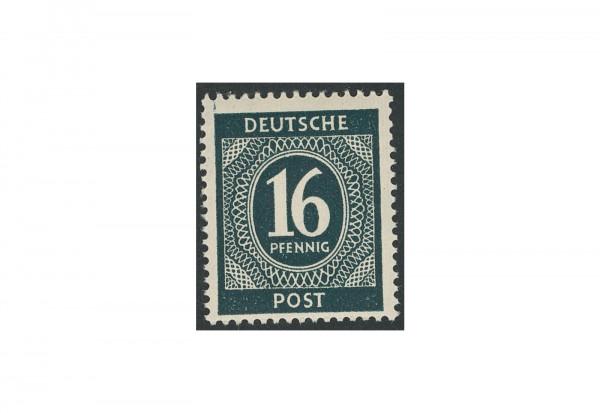 Briefmarke Alliierte Besetzung Kontrollrat I 1946 Michel-Nr. 923 b postfrisch