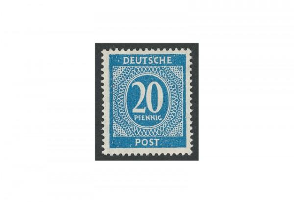 Briefmarke Alliierte Besetzung Kontrollrat I 1946 Michel-Nr. 924 c postfrisch
