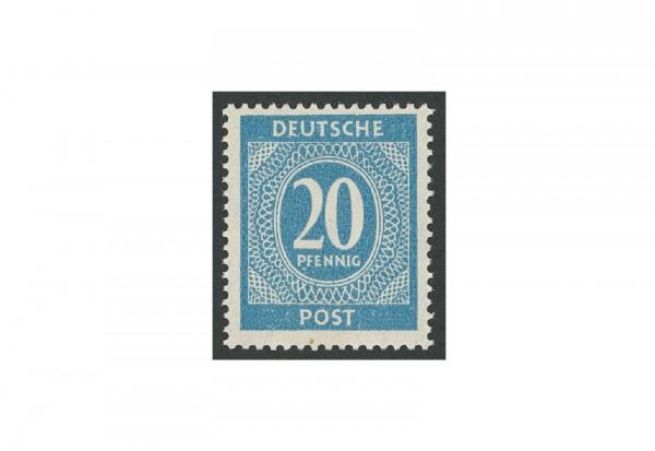 Briefmarke Alliierte Besetzung Kontrollrat I 1946 Michel-Nr. 924 d postfrisch