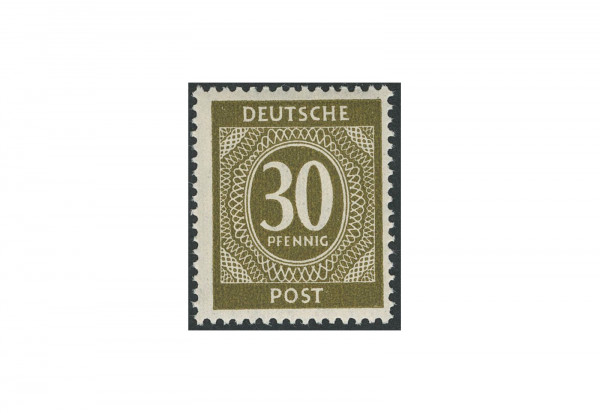 Briefmarke Alliierte Besetzung Kontrollrat I 1946 Michel-Nr. 928 c postfrisch